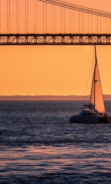 Sunset Sail with Wine