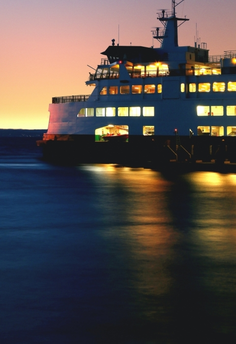 Ferry to Hvar