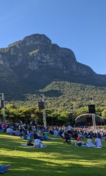 Picnic at the Kirstenbosch Summer concert