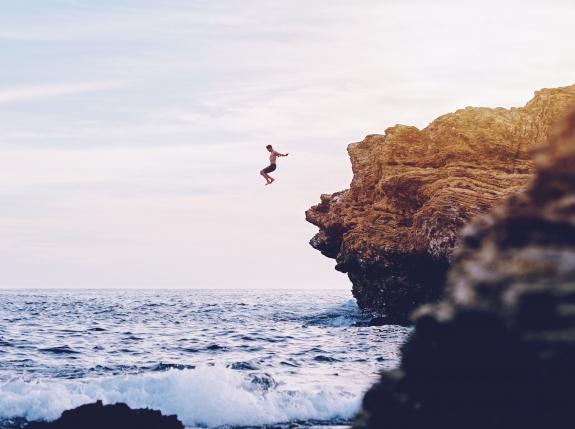 Sunset Kayak & Cliff Jump